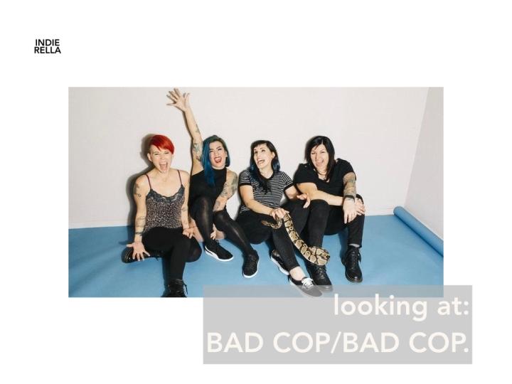 looking at BAD COP/BADCOP.