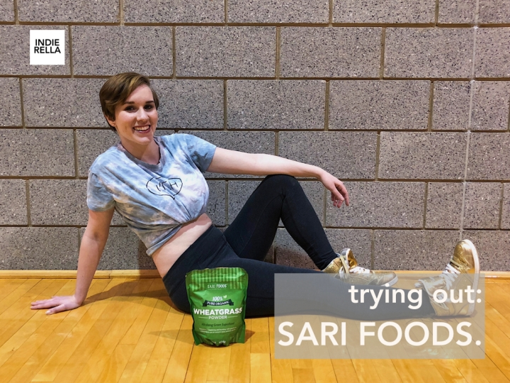 trying out SARI FOODS.