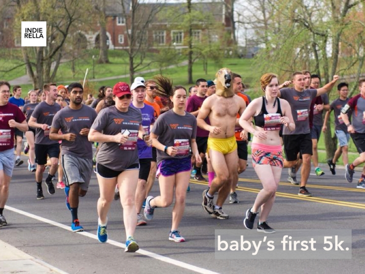 baby's first 5k.
