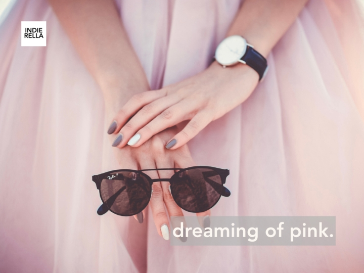 dreaming of pink.