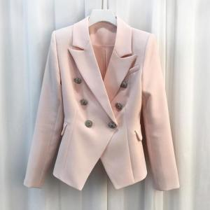 HIGH-QUALITY-New-Fashion-2017-Baroque-Designer-Blazer-Jacket-Women-s-Silver-Lion-Buttons-Double-Breasted_700x700
