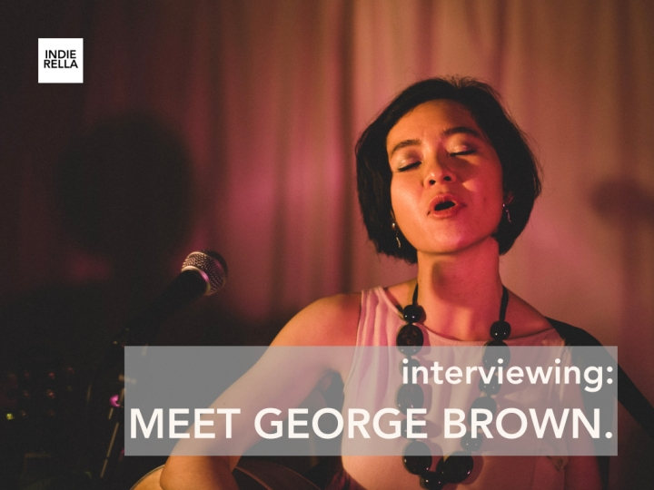 interviewing MEET GEORGE BROWN.