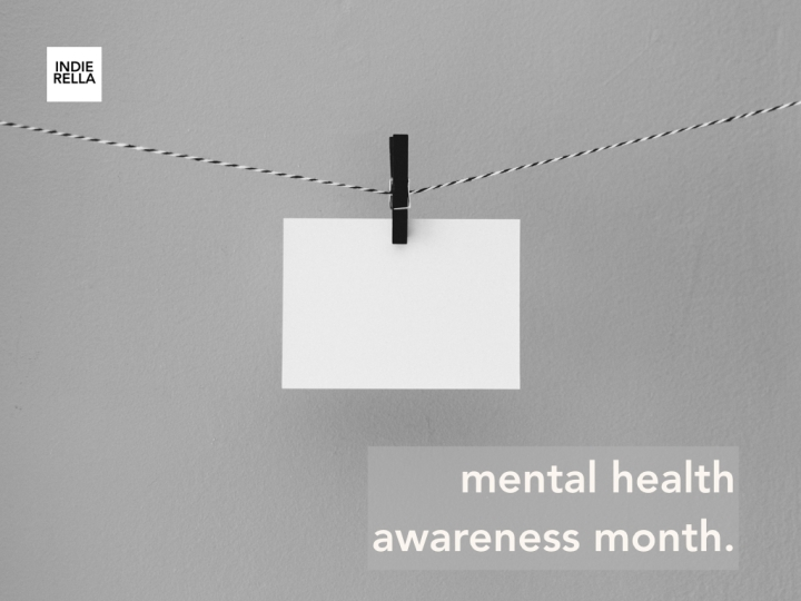 mental health awareness month.