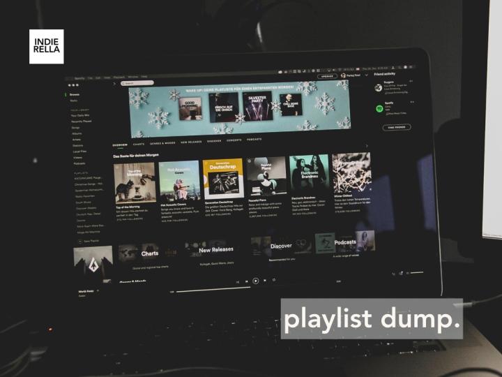 playlist dump.