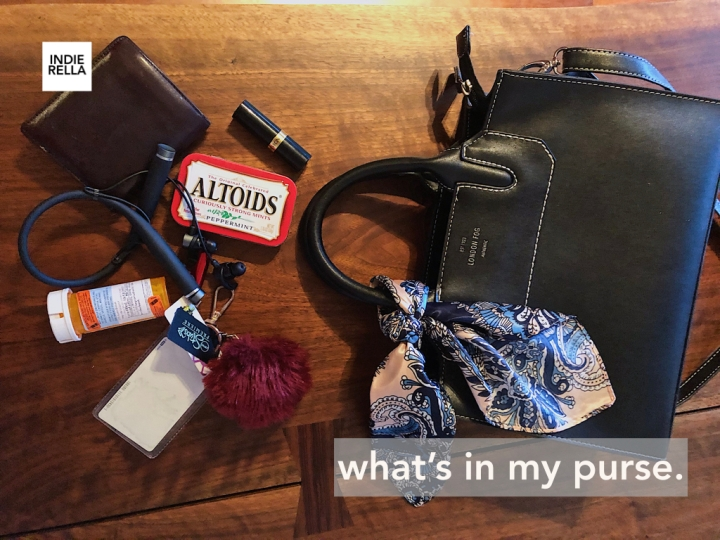 what's in my purse.