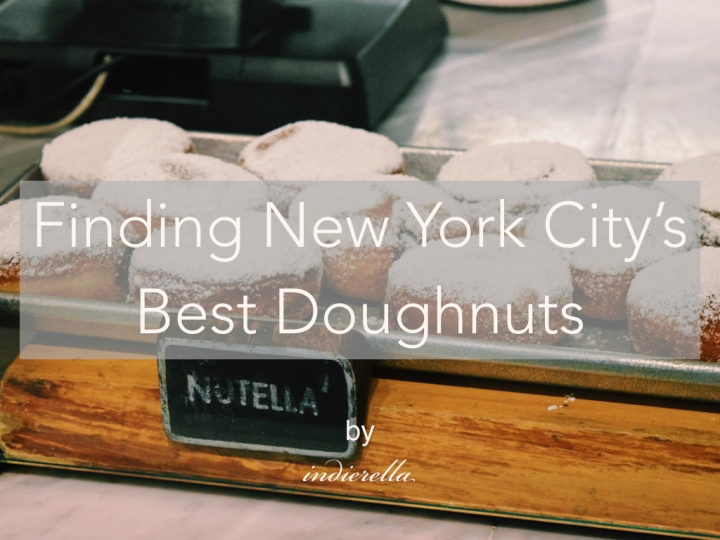 Finding New York City's Best Doughnuts