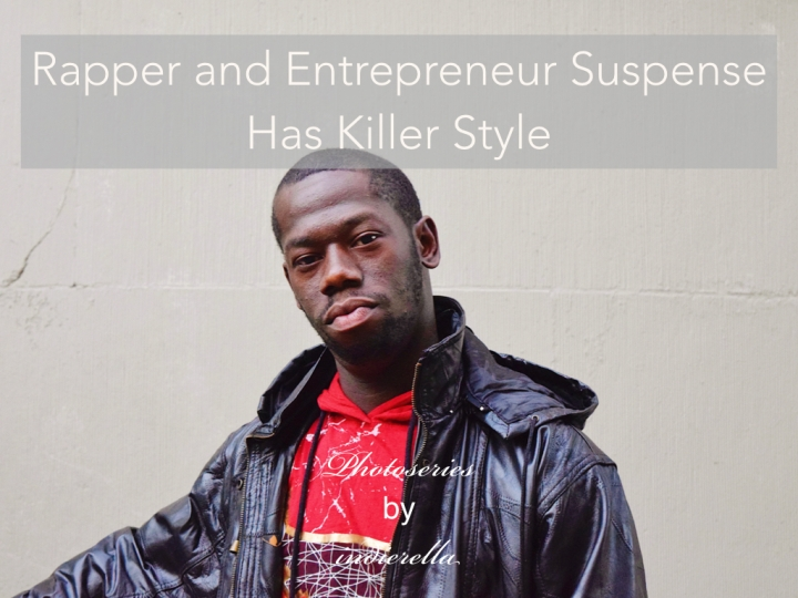Rapper & Entrepreneur Suspense has Killer Style
