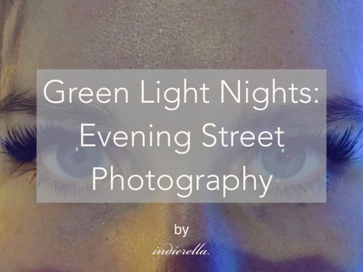 Green Light Nights: Evening StreetPhotography