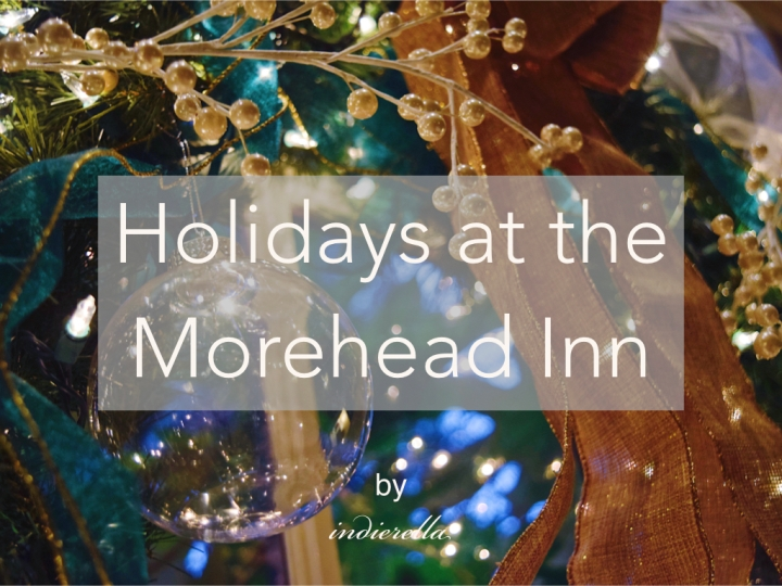 Holidays at the Morehead Inn