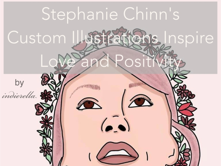 Stephanie Chinn's Custom Illustrations Inspire Love and Positivity