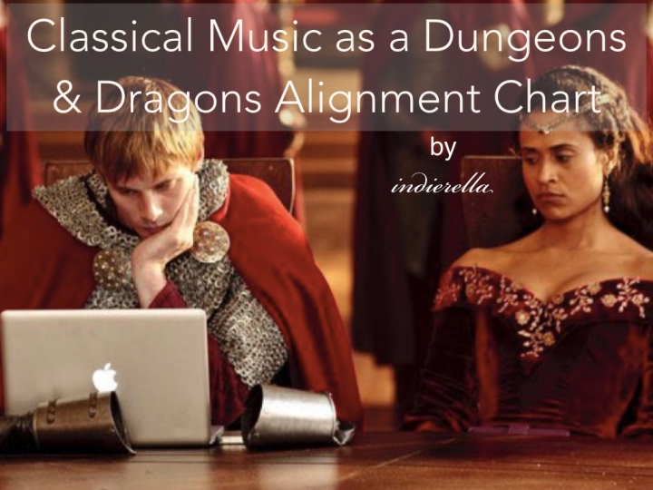 Classical Music as a Dungeons & Dragons AlignmentChart