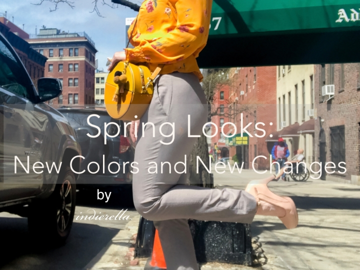 Spring Looks: New Colors and New Changes
